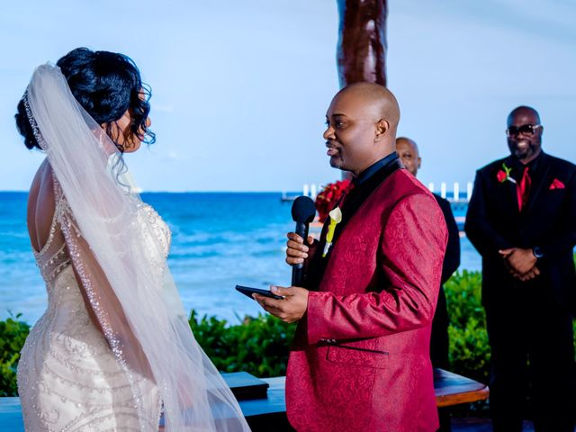Willie and Tawanda's Wedding in Playa del Carmen, Mexico 130