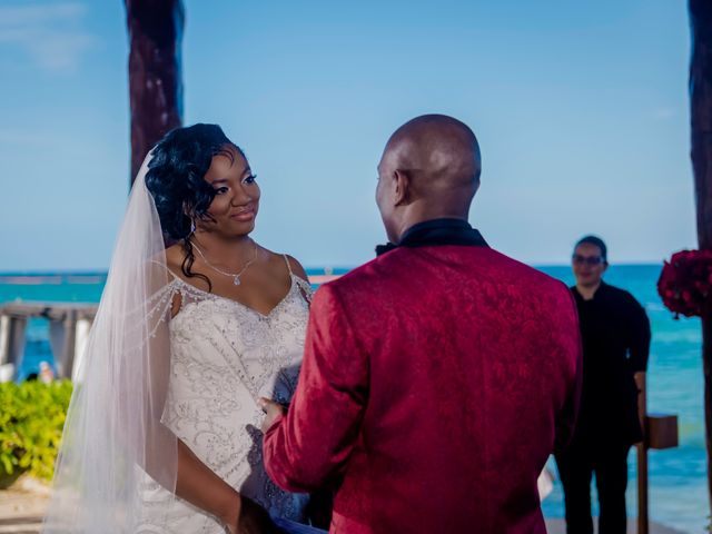 Willie and Tawanda's Wedding in Playa del Carmen, Mexico 131