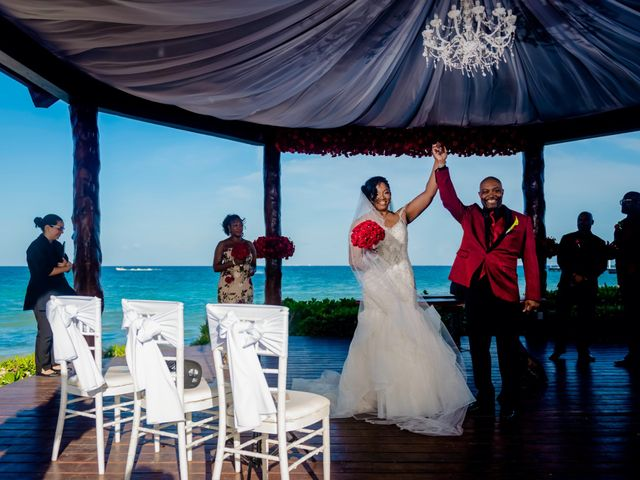 Willie and Tawanda's Wedding in Playa del Carmen, Mexico 143