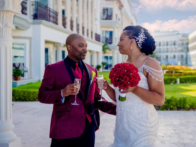 Willie and Tawanda's Wedding in Playa del Carmen, Mexico 150