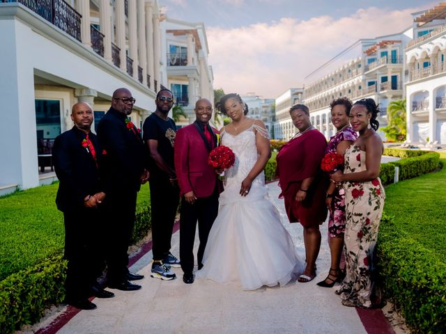 Willie and Tawanda's Wedding in Playa del Carmen, Mexico 154