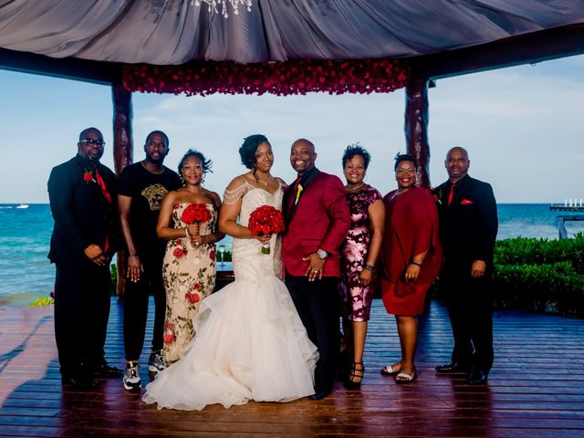 Willie and Tawanda's Wedding in Playa del Carmen, Mexico 155