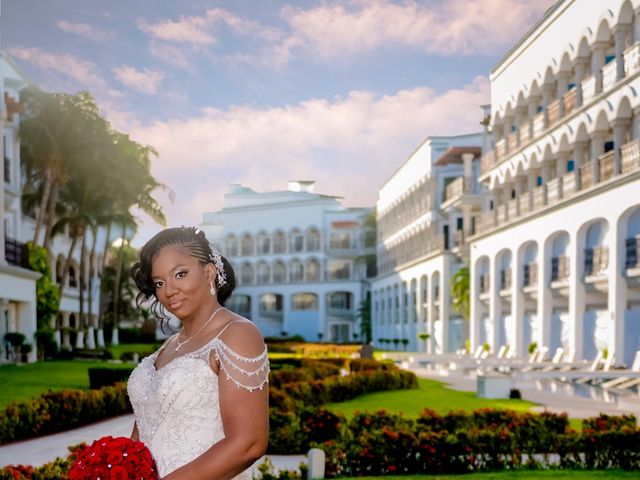 Willie and Tawanda's Wedding in Playa del Carmen, Mexico 161