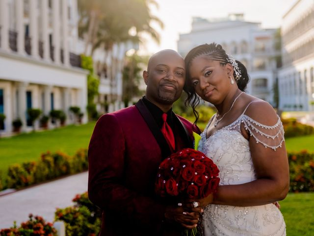 Willie and Tawanda's Wedding in Playa del Carmen, Mexico 162