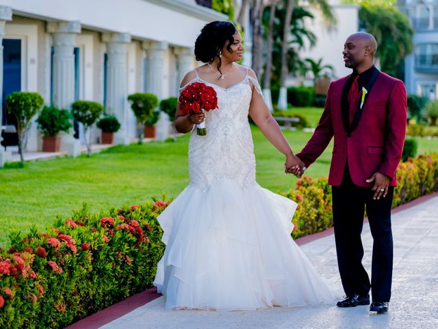 Willie and Tawanda's Wedding in Playa del Carmen, Mexico 166