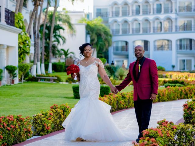 Willie and Tawanda's Wedding in Playa del Carmen, Mexico 167