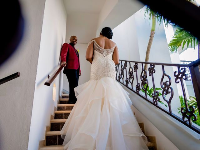 Willie and Tawanda's Wedding in Playa del Carmen, Mexico 171