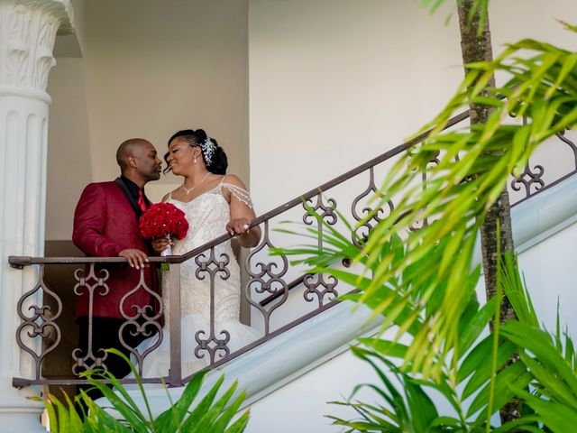 Willie and Tawanda's Wedding in Playa del Carmen, Mexico 172