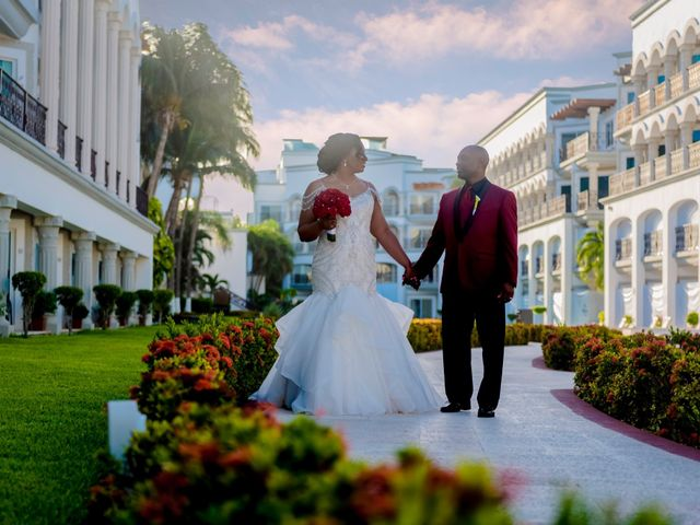 Willie and Tawanda's Wedding in Playa del Carmen, Mexico 173