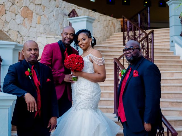 Willie and Tawanda's Wedding in Playa del Carmen, Mexico 176