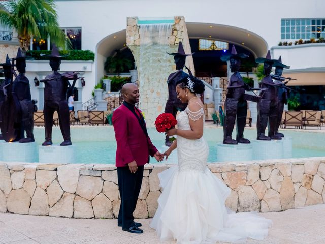 Willie and Tawanda's Wedding in Playa del Carmen, Mexico 179