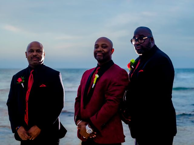 Willie and Tawanda's Wedding in Playa del Carmen, Mexico 184