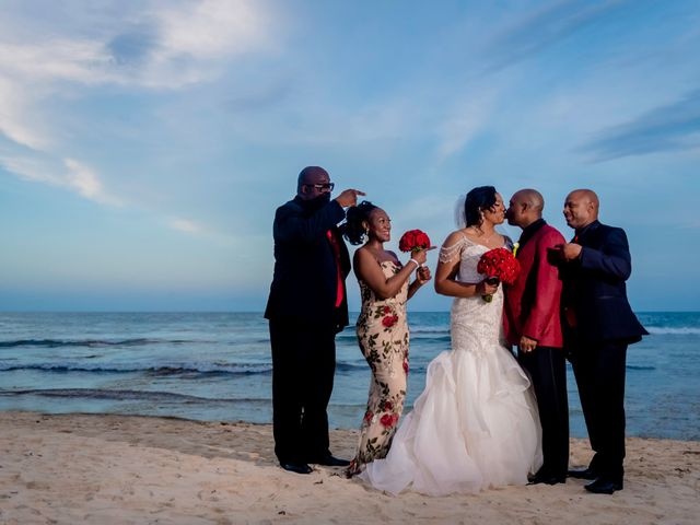 Willie and Tawanda's Wedding in Playa del Carmen, Mexico 185