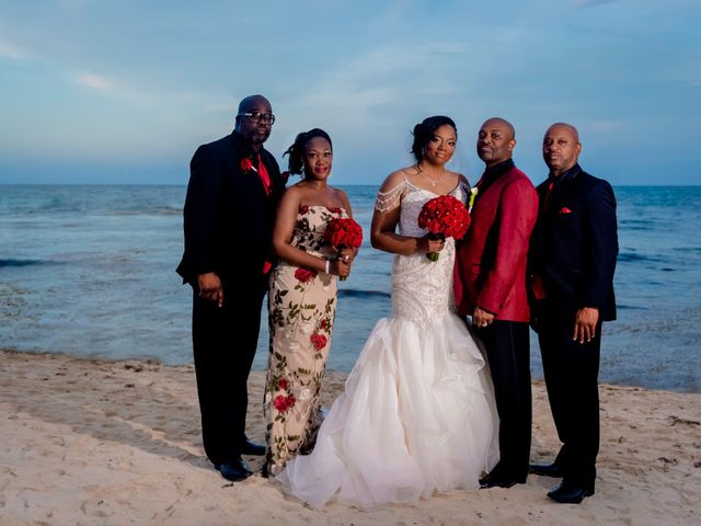 Willie and Tawanda's Wedding in Playa del Carmen, Mexico 186