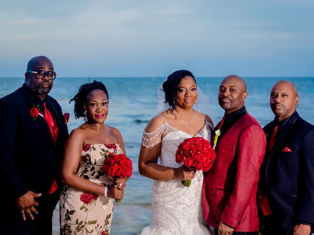 Willie and Tawanda's Wedding in Playa del Carmen, Mexico 187