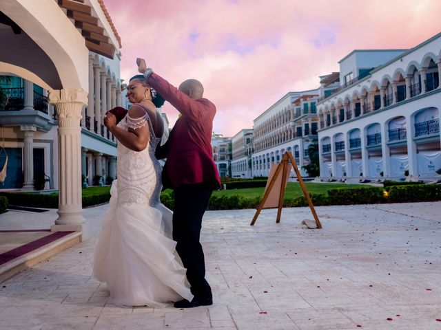 Willie and Tawanda's Wedding in Playa del Carmen, Mexico 201
