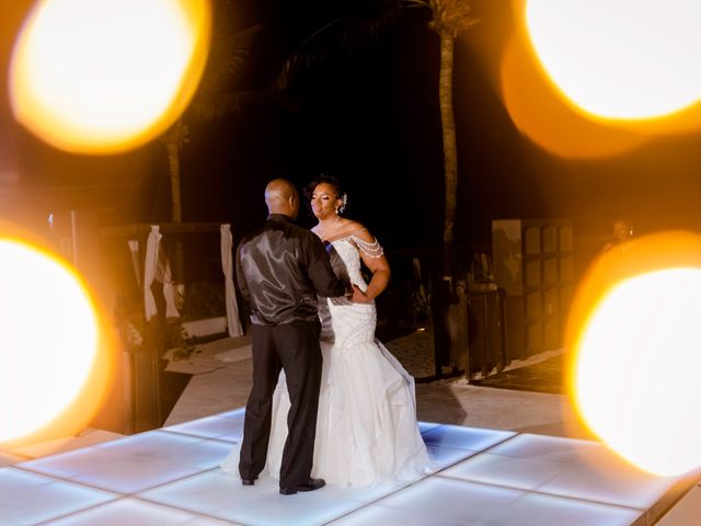 Willie and Tawanda's Wedding in Playa del Carmen, Mexico 202