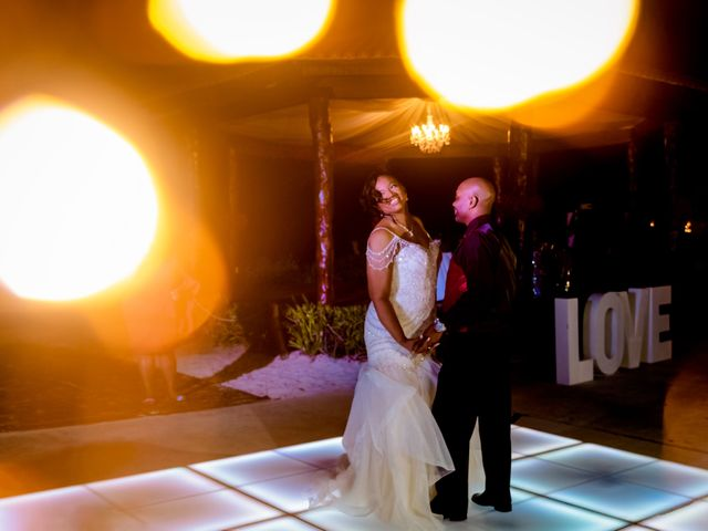Willie and Tawanda's Wedding in Playa del Carmen, Mexico 209