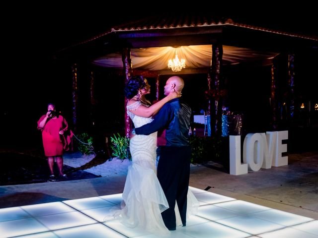 Willie and Tawanda's Wedding in Playa del Carmen, Mexico 210