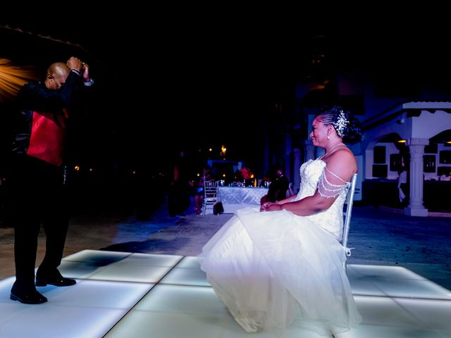 Willie and Tawanda's Wedding in Playa del Carmen, Mexico 214