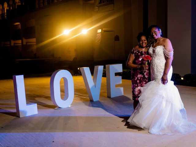 Willie and Tawanda's Wedding in Playa del Carmen, Mexico 215