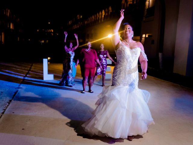 Willie and Tawanda's Wedding in Playa del Carmen, Mexico 216