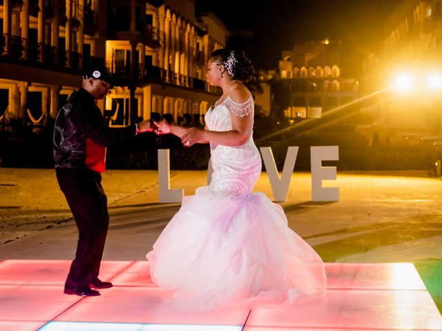 Willie and Tawanda's Wedding in Playa del Carmen, Mexico 221
