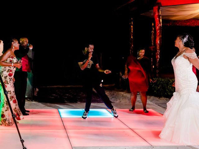 Willie and Tawanda's Wedding in Playa del Carmen, Mexico 222