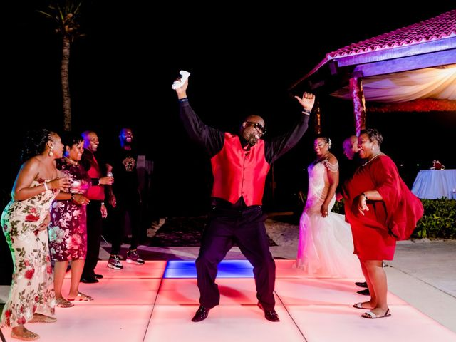 Willie and Tawanda's Wedding in Playa del Carmen, Mexico 223