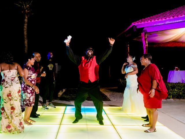 Willie and Tawanda's Wedding in Playa del Carmen, Mexico 224