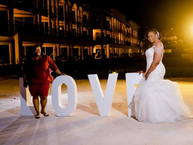 Willie and Tawanda's Wedding in Playa del Carmen, Mexico 227