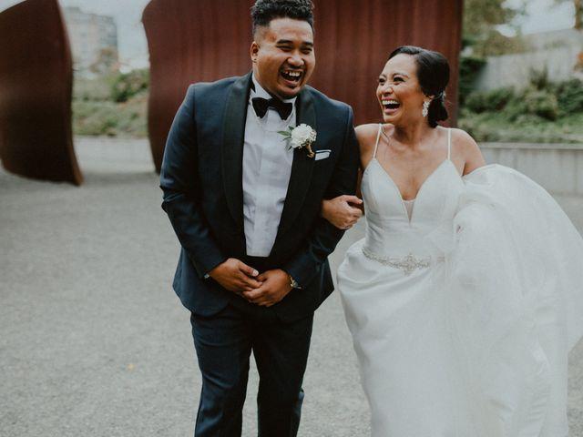 The wedding of Nerissa and Daniel
