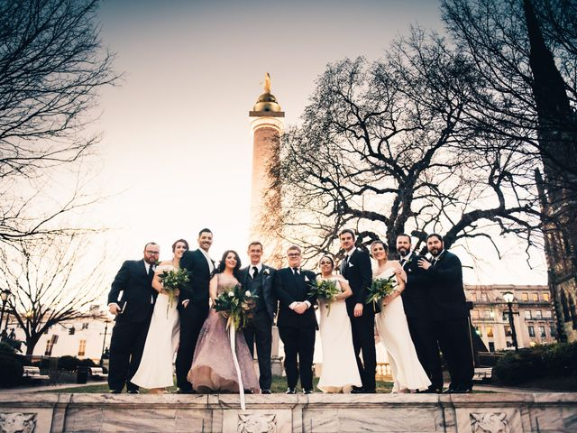 Sean and Julie's Wedding in Baltimore, Maryland 7