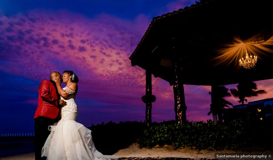 Willie and Tawanda's Wedding in Playa del Carmen, Mexico