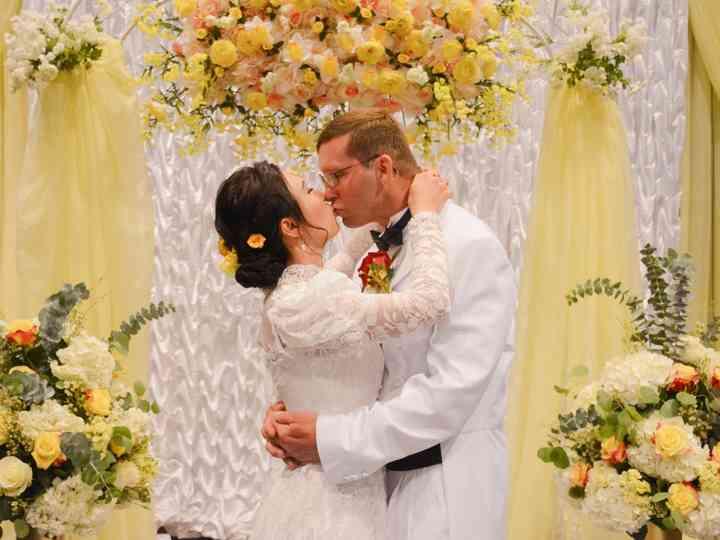 The wedding of Ngan and Dan