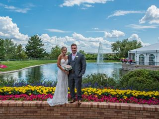 The wedding of Carrie and Clayton