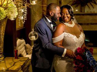 The wedding of Nkosane Curtis and Sheena Djokotoe-Curtis 1