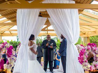 The wedding of Nkosane Curtis and Sheena Djokotoe-Curtis 2