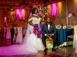 The wedding of Nkosane Curtis and Sheena Djokotoe-Curtis