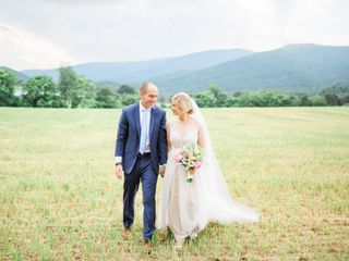 The wedding of John and Christy