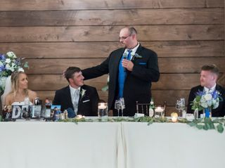 The wedding of Andrew and Christine 1