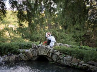 The wedding of Andrew and Christine