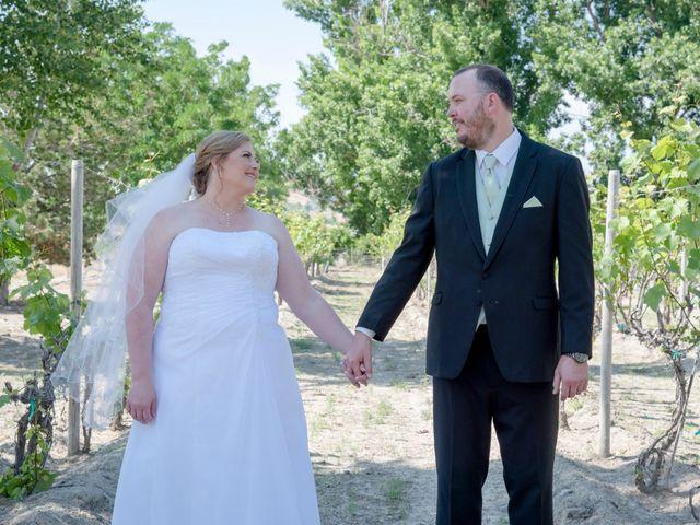 The wedding of Melanie and Craig