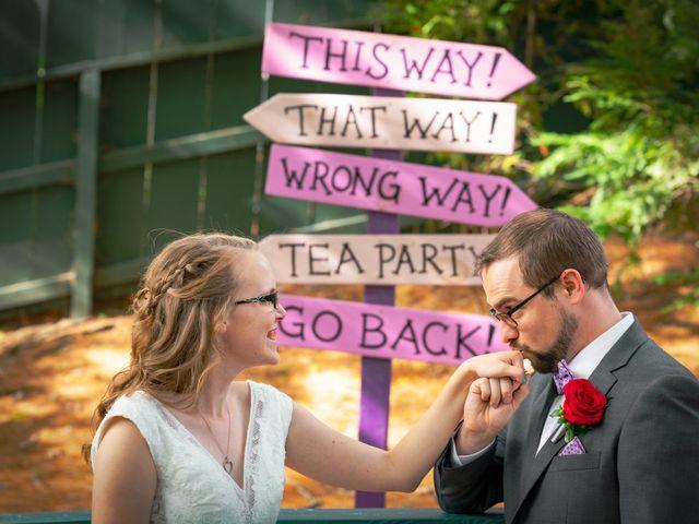The wedding of Rebecca and Doug