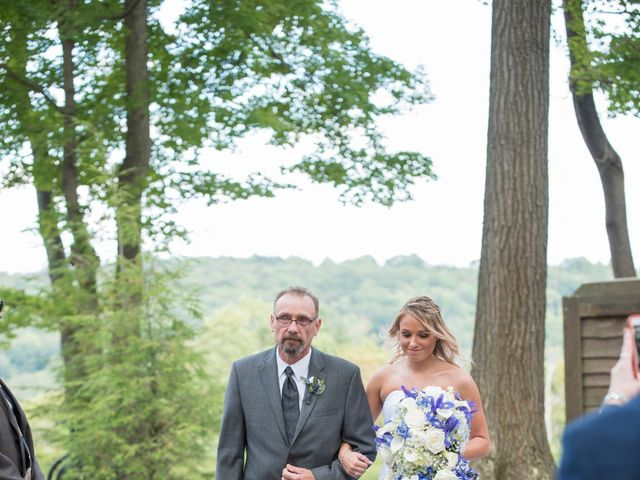 Christine and Andrew's Wedding in Champion, Pennsylvania 13
