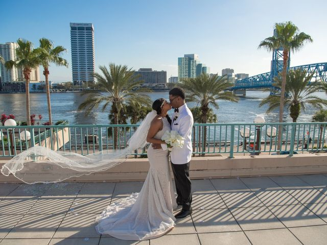 The wedding of Vince and Brandee