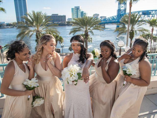 Brandee and Vince's Wedding in Jacksonville Beach, Florida 16