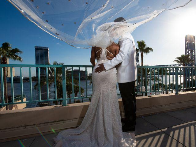 Brandee and Vince's Wedding in Jacksonville Beach, Florida 39