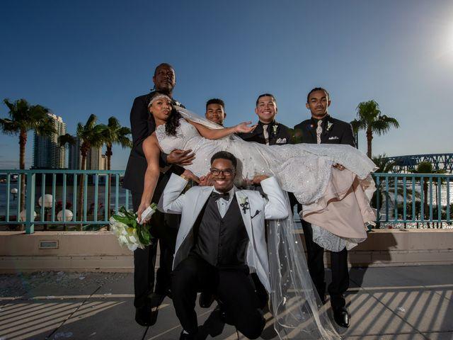 Brandee and Vince's Wedding in Jacksonville Beach, Florida 42