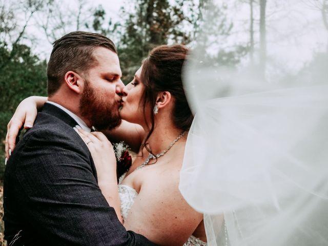 The wedding of Samantha and Jesse